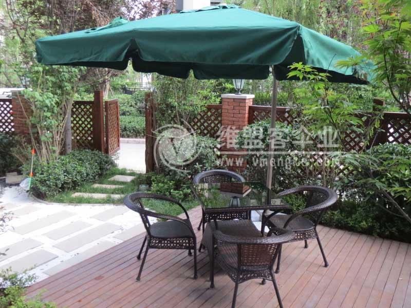 欧式遮阳伞 - 庭院伞 - 西安单边伞 太阳伞 遮阳伞 伞
